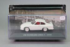 Zt784 car ixo 1/43 db panhard hbr-5 1959 white