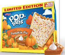 Kellogg's POP TARTS PUMPKIN PIE Pastries LIMITED EDITION