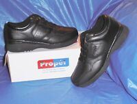 Propet M3704 Mens Lite Walking Shoe,Black size  13   M (D) FREE SHIP USA