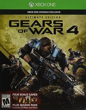 Gears of War 4 Ultimate Ed: Inc- SteelBook, Season Pass, Early Access - Xbox One