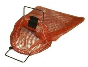 Galvanized Wire Handle Mesh Bags with D-Ring - Small