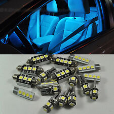 For AUDI B5 B6 B7 A4 S4 RS4 96-08 Ice blue 18 Light Canbus SMD LED Interior Kit
