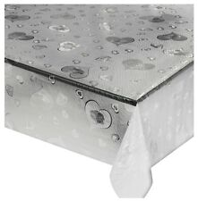 Tovaglia trasparente cuori al metro h140 pvc antimacchia tavolo sala pranzo