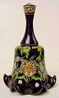 Fenton Glass Jungle Safari Bell Designer Series Limited Edition