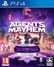 Agents of Mayhem - PS4 neuf sous blister VF