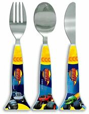 3 Piece Blaze & the Monster Machine Triangle Cutlery Set