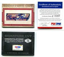 Pee Wee Reese CUT Signature Card 1/1 AUTO Signed HOF Brooklyn LA Dodgers PSA/DNA