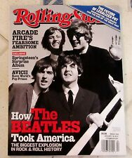 No Label ROLLING STONE January 16, 2014 How BEATLES Took AMERICA Springsteen POT