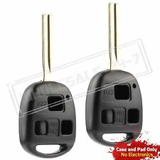 2 Replacement For 1999 2000 2001 2002 2003 Lexus RX300 RX 300 Key Shell Case