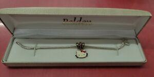 Sanrio Hello Kitty Pandora Charm And Bracelet 925 Silver