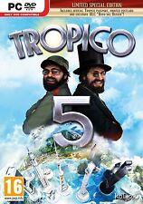 Computer PC Spiel Tropico 5 Limited Day One Edition DVD Versand NEU