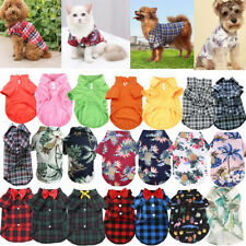For Small Dogs Puppy Plaid Chihuahua Vest Pet Dog Clothes Puppy T Shirt Clothes