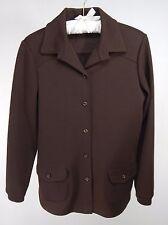 Vintage Koret of California Button Down Brown Jacket Union Made Sz M