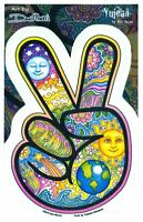 """4"""" x 6"""" Dan Morris Peace Hand Indoor/Outdoor Sticker"""
