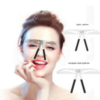 Eyebrow Makeup Area Mold Pattern Eyebrow Measure Ruler Eyebrow Tattoo Accessorie