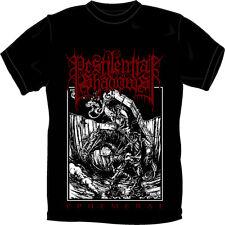 PESTILENTIAL SHADOWS - EPHEMERAL T SHIRT - SMALL Black Metal, Blackmetal NEW