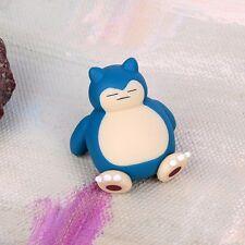 kids Nice gift 4cm Pokemon Go Snorlax Figure Toys Collection Pvc Doll Decoration