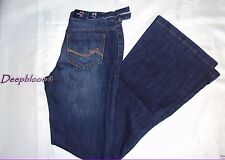 TOMMY HILFIGER GIRL SEXY JEANS PANTS WOMENS SIZE 3 STRETCH FLARE DENIM BLUE NEW