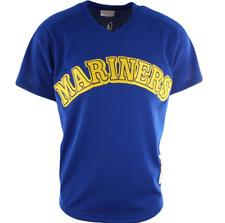 Mitchell & Ness Seattle Mariners #24 Baseball Jersey New Mens Sizes MSRP $90