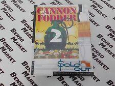 CANNON FODDER 2 - PC IBM 386 BIG BOX EDIZIONE CARTONATA NUOVO FONDO DI MAGAZZINO