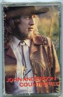 John Anderson Counterfied country cassette tape Honky Tonk Crowd NEW sealed
