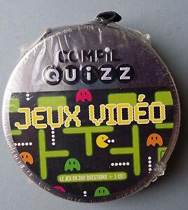 COMPIL QUIZZ - JEUX VIDÉO - LE JEU EN 360 QUESTIONS + 1 CD !  - NEUF NEW NEU