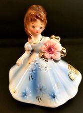 Vintage Josef Originals Japan October Pink Tourmaline Opal Birthday Figure Girl