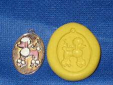 Poodle Push Mold Food Safe Silicone 742 Cupcake Candy Resin Clay Gumpaste Soap