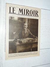 MIROIR 15/12 1918 GUERRE 14/18 NUDANT ZEPPELINS LIEGE SPA BRUXELLES HYDRAVIONS