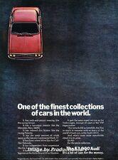 1972 Audi 100 LS - Original Advertisement Print Art Car Ad J662