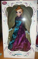 """Disney Limited Edition Frozen 17"""" Anna and Elsa Doll 2 doll set LE 2500"""