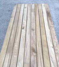 10 Oak Garden Bench Slats 53mm X 21mm X 1220mm Hardwood Seat Solid Oak (second)