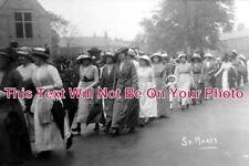 LA 1178 - St Marys Adults Procession, Clitheroe, Lancashire - 6x4 Photo
