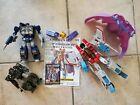 Takara Transformers Masterpiece Starscream and more