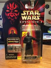 Star Wars Episode 1 Darth Maul Sith Lightsaber Commtech Action Figure NIP Hasbro