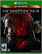 Brand New Metal Gear Solid V 5 The Phantom Pain XBOX ONE GAME (DAY ONE EDITION )