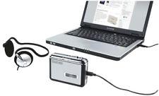 Convertitore di cassette a mp3 riproduttore audio musicassette a file mp3 su pc