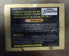 New listing Set Of Used Forstner Bits