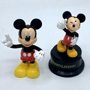 Mickey Mouse Figurine Disney Lot Congratulations
