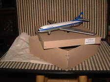 RARE NOS FRICTION DRIVEN TIN LUFTHANSA JET PLANE WESTERN GERMANY, NEW IN BOX!