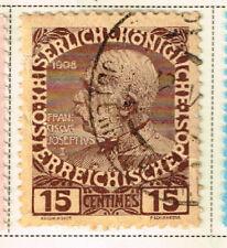 Austria Levant Offices in Crete stamp 1908