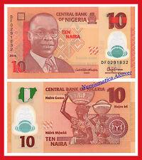 NIGERIA 10 Naira 2016 (2017) Pick NEW SC / UNC