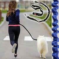 Elastic Hands Free Dogs Lead Running Belt Jogging Waist Pet Dog Leash Reflective