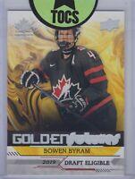 Bowen Byram 2019 Team Canada Juniors Golden Futures 2019 Draft Eligible