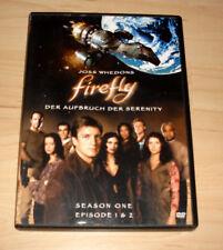 DVD Serie - Firefly - Der Aufbruch der Serenity - Season One Episode 1 & 2