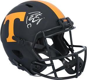 Peyton Manning Tennessee Volunteers Signed Eclipse Replica Helmet