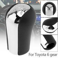 6 Speed Gear Shift Shifter Knob For RAV4 Toyota Aygo Verso Corolla Avensis Yaris