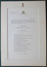King Edward VII Signed Document Endorsing Surgeons & Medical Staff King Edward V