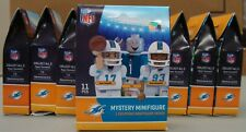 (10)  MIAMI DOLPHINS MYSTERY PACK OYO MINIFIGURE TANNEHILL NDAMUKONG SUH T.D. ?