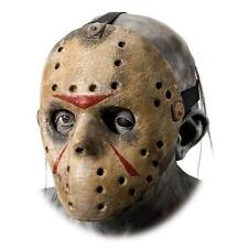 Friday The 13th Jason Voorhees Deluxe Eva Hockey Mask One Size Gray.